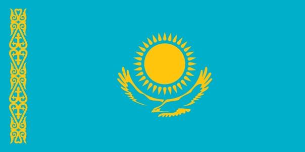 Flag - Kazakhstan